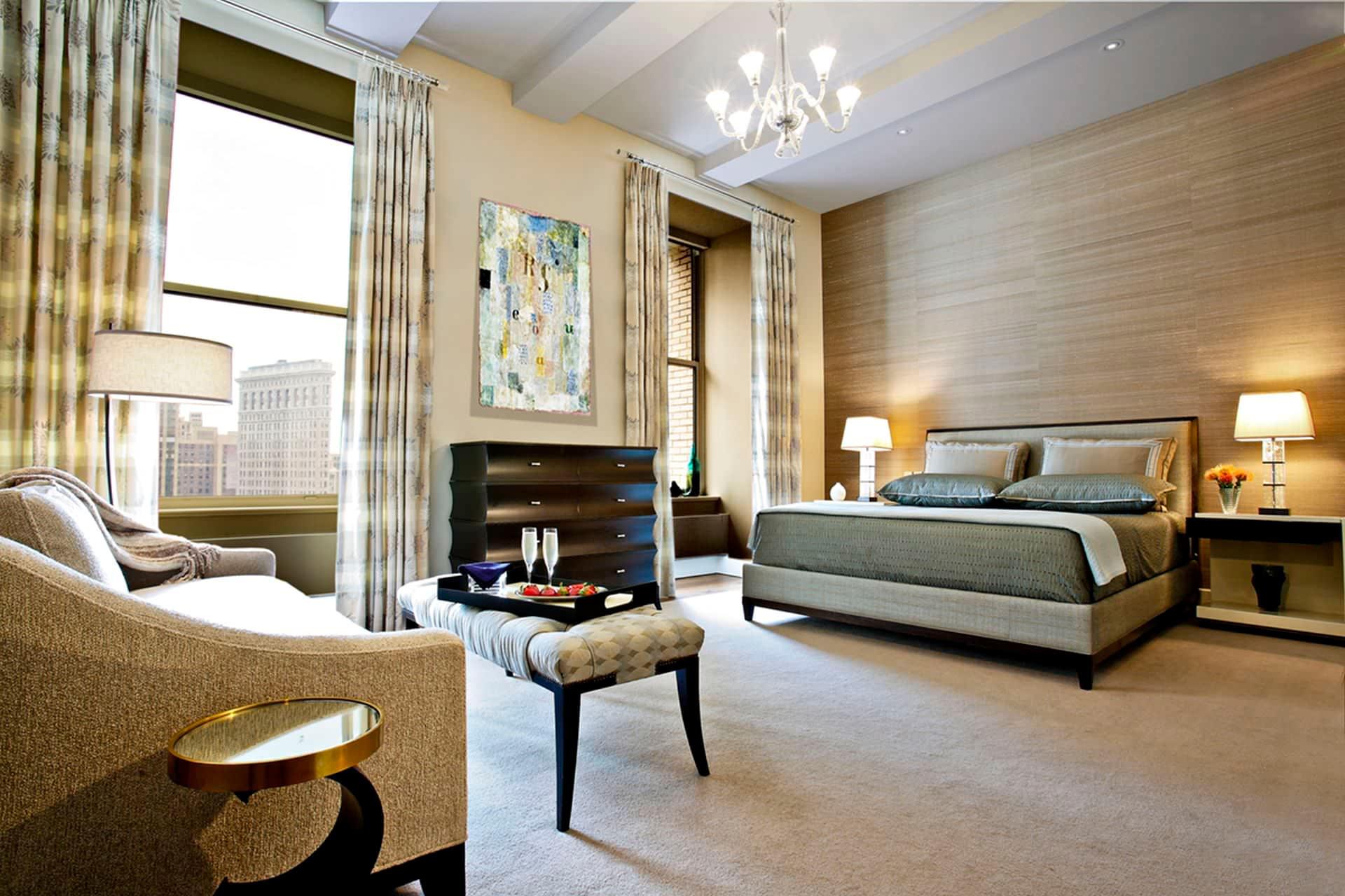 resort style bedroom by hubley design interiors